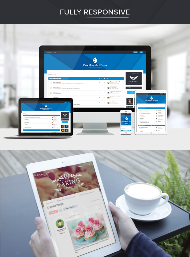 Milk - Multipurpose Responsive phpBB 3.2 Theme - 4