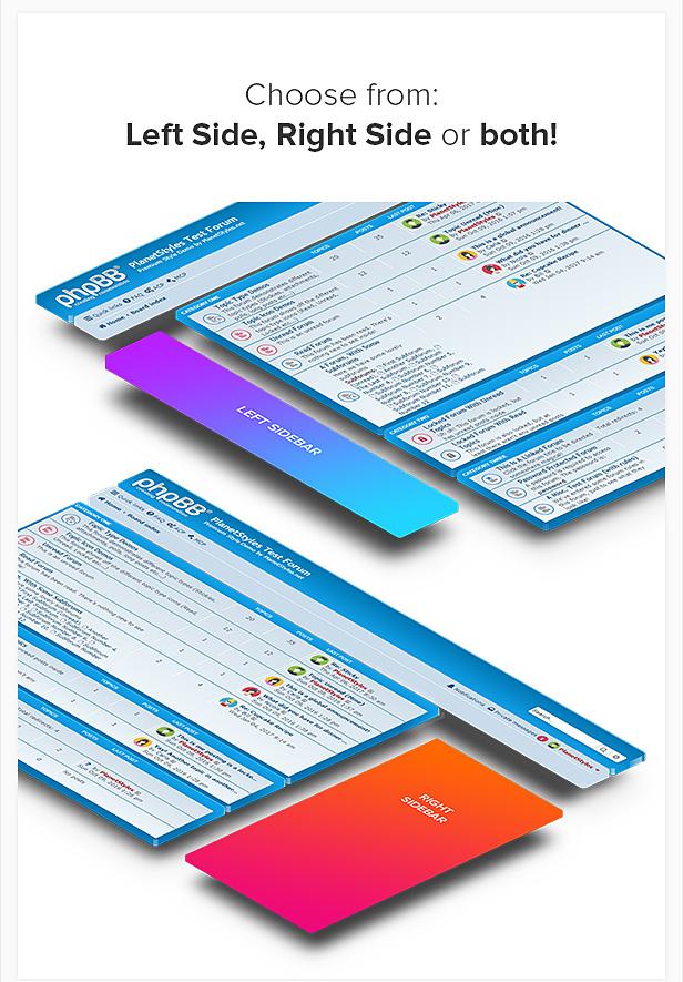 phpBB 3.2 Sidebar Extension - Responsive - 3